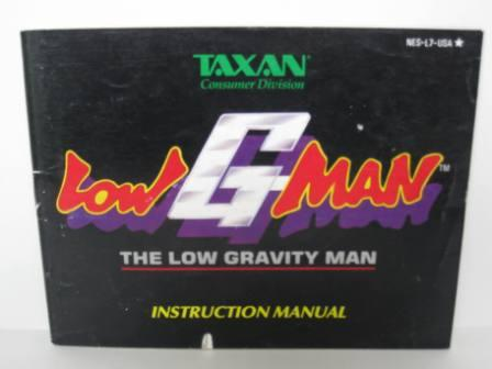 Low G Man - NES Manual